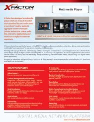 Learn More: Download Our PDF. - X-Factor Communications