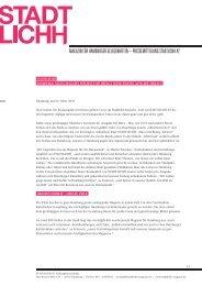 magazin für hamburger gelegenheiten – pressemitteilung stadtlichh ...