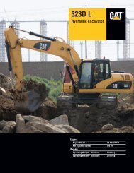 Specalog for 323D L Hydraulic Excavator, AEHQ5943