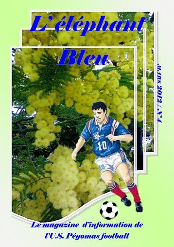 Le magazine d'information de l'U.S. Pégomas football