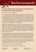 Barbarossamarkt 2011 -  und Gewerbeverein Gelnhausen e.V. - Seite 2