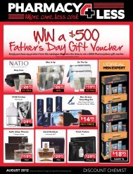 Father's Day Gift Voucher - Pharmacy 4 Less