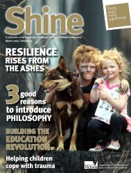 Shine, March 2009, Vol. 02 - Department of Education and Early ...