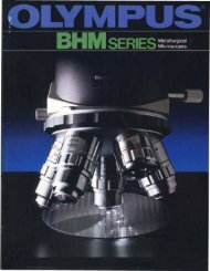 Olympus BHM Series Metallurgical Microscopes (BH-2)
