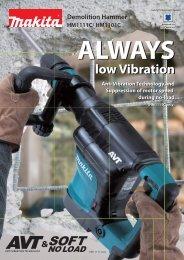 low Vibration low Vibration - Makita