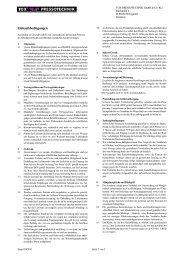Einkaufsbedingungen - TOX PRESSOTECHNIK GmbH & Co.KG