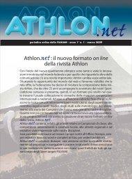 Athlon.net: il nuovo formato on line della rivista Athlon - Fijlkam