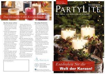 Kerzenkunde - PartyLite