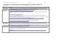 Informationen zur Bewerbung für den Studiengang B - Technische ...