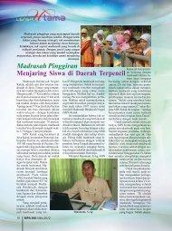 Madrasah Pinggiran; Menjaring Siswa di Daerah ... - Kemenag Jatim