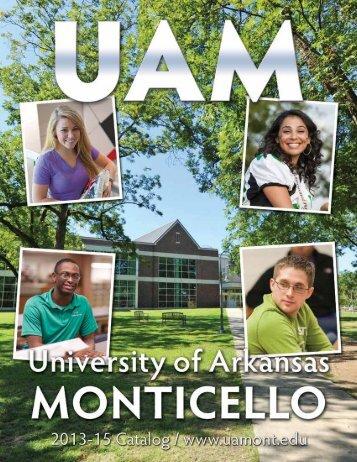 Music Catalog Section - University of Arkansas at Monticello