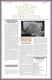 Issue #4 June 2001 - Poet's Press