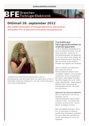 DIGImail 28. september 2012 - BFE