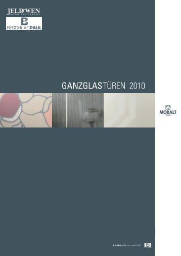 GANZGLASTÜREN 2010 - Beschlag Paul GmbH