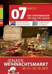 WEIHNACHTSMARKT JENAER - 07 Das Stadtmagazin . BLOG