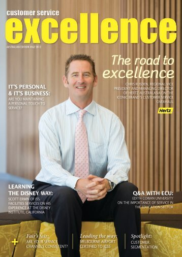 The road to excellence - Customer Service Institute of Australia