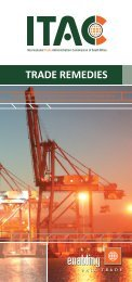 trade remedies - International Trade Administration Commission Of ...