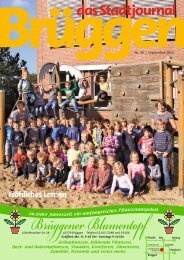 Stadtjournal September 2011.pdf - Stadtjournal Brüggen