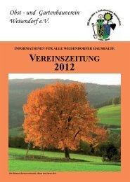 Obst - und Gartenbauverein Weisendorf e.V.