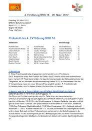 Protokoll der 4.Sitzung vom März 2012 - BRG 16 Schuhmeierplatz