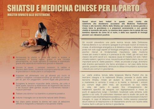 shiatsu e medicina cinese per il parto - DYD medicina integrativa