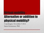 PTT Presentation Virtual mobility - EURO APPRENTICE