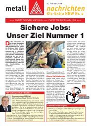 Kfz Extra NRW Nr. 2 - IG Metall 4 you