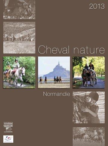 télécharger la brochure Cheval Nature 2013 en Normandie.