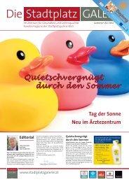 STPG Sommer 02-2012_STPG Sommer 02-2012 - Stadtplatzgalerie ...