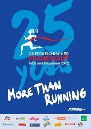 Infos und Programm 2012 - Österreichischer Frauenlauf