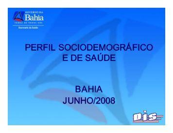 Perfil Epidemiológico da Bahia - Sesab