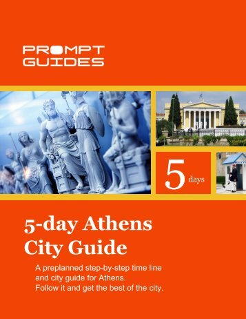 5-day Athens City Guide - Prompt Guides