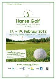 Rückblick - Hanse Golf 2012 - Seite 1 - - Hanse Golf Hamburg