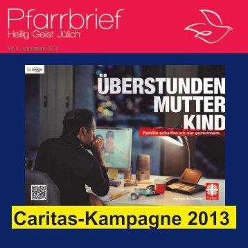Caritas-Kampagne 2013 - St. Franz Sales Jülich