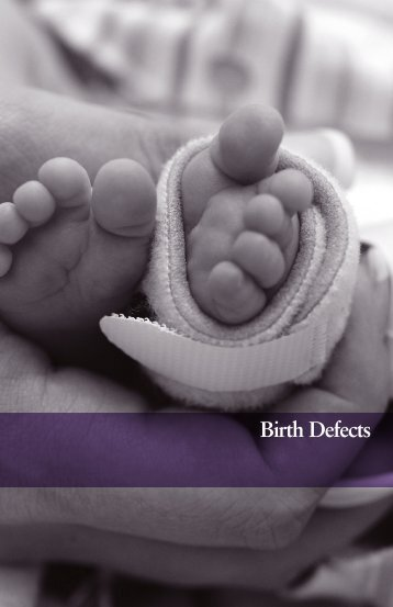 Birth Defects - March of Dimes