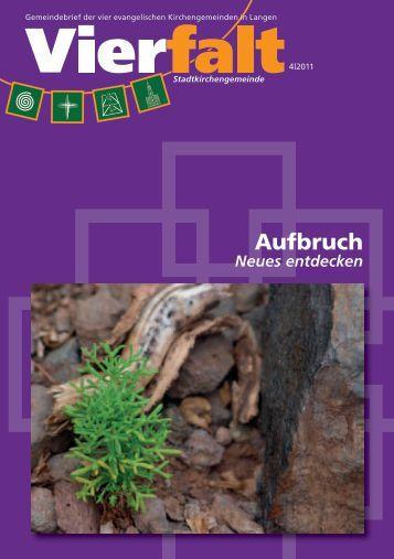 Aufbruch - Evangelische Stadtkirche Langen