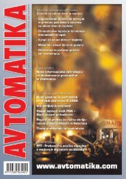 Kanali za odvod dima in toplote - Avtomatika