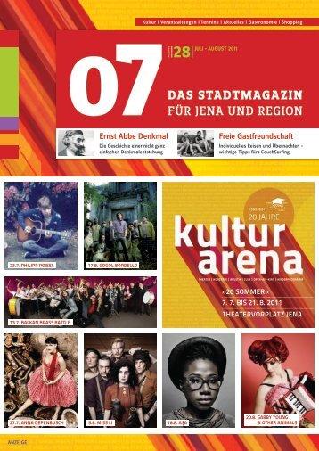 Freie Gastfreundschaft Ernst Abbe Denkmal - 07 Das Stadtmagazin ...