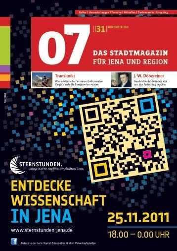 Ausgabe 31 - 07 Das Stadtmagazin . BLOG