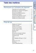 Guide pratique de Cyber-shot - Planete pixel - Page 5