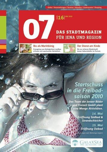 Ausgabe 16 - 07 Das Stadtmagazin . BLOG