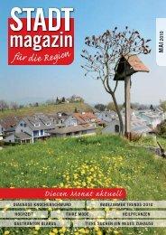 Ausgabe Mai 2010 - STADTmagazin Rapperswil-Jona