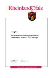 Weinbau und Oenologie - BBS-Server Rheinland-Pfalz