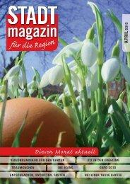 Ausgabe April 2010 - STADTmagazin Rapperswil-Jona