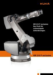 KR 210 f exclusive - KUKA Robotics