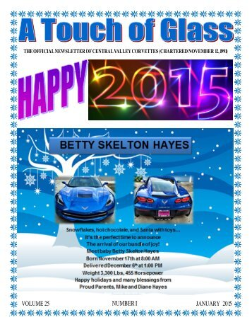 Central Valley Corvettes - January 2015