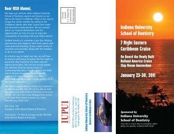 Indiana University School of Dentistry - IUPUI Alumni Relations