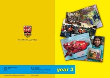 year 3 - Dulwich Hamlet Junior School