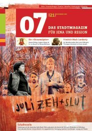 Schallnovelle - 07 Das Stadtmagazin . BLOG
