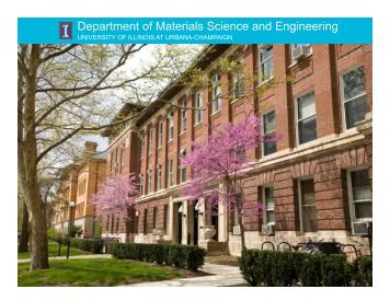 Department of Materials Science and Engineering